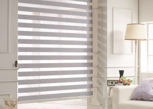 woodlook gray blind Daekyeong triple Black out blinds blind